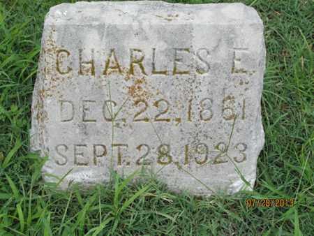 BADGLEY, CHARLES E - Montgomery County, Kansas   CHARLES E BADGLEY - Kansas Gravestone Photos