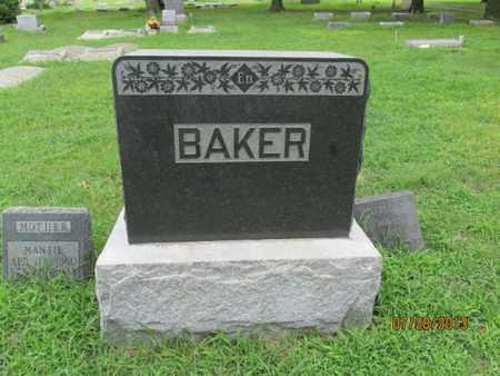BAKER, FAMILY STONE - Montgomery County, Kansas   FAMILY STONE BAKER - Kansas Gravestone Photos