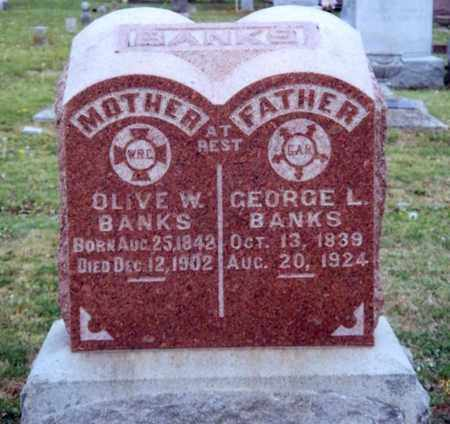 BANKS, GEORGE LOVELL - Montgomery County, Kansas | GEORGE LOVELL BANKS - Kansas Gravestone Photos