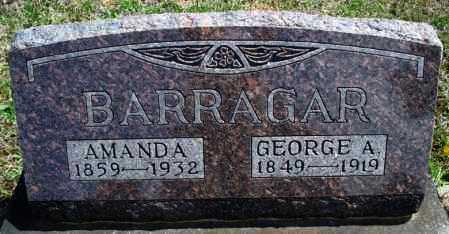 BARRAGAR, AMANDA - Montgomery County, Kansas | AMANDA BARRAGAR - Kansas Gravestone Photos