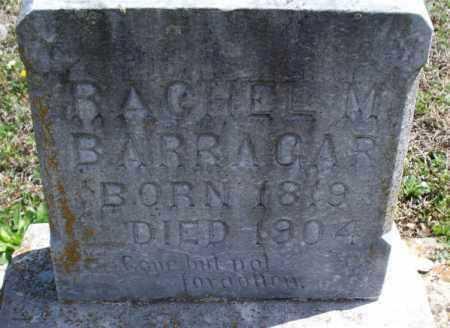 BARRAGAR, RACHEL M - Montgomery County, Kansas | RACHEL M BARRAGAR - Kansas Gravestone Photos