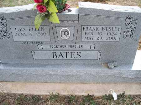 BATES, FRANK WESLEY - Montgomery County, Kansas   FRANK WESLEY BATES - Kansas Gravestone Photos