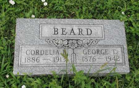 BEARD, GEORGE T - Montgomery County, Kansas   GEORGE T BEARD - Kansas Gravestone Photos