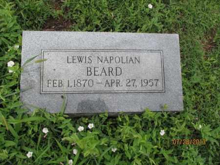 BEARD, LEWIS NAPOLIAN - Montgomery County, Kansas | LEWIS NAPOLIAN BEARD - Kansas Gravestone Photos