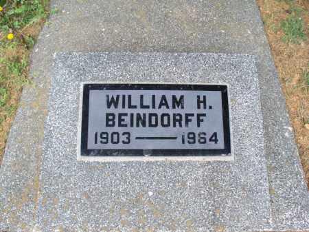 BEINDORFF, WILLIAM H - Montgomery County, Kansas | WILLIAM H BEINDORFF - Kansas Gravestone Photos