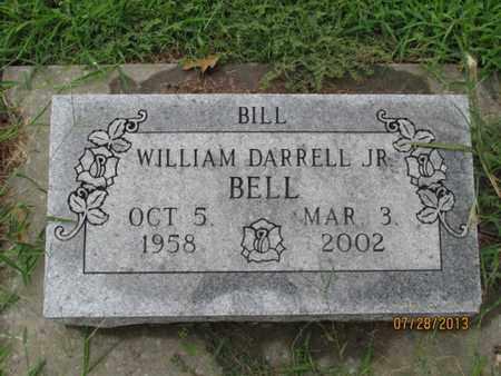 "BELL, WILLIAM DARRELL, JR ""BILL"" - Montgomery County, Kansas | WILLIAM DARRELL, JR ""BILL"" BELL - Kansas Gravestone Photos"