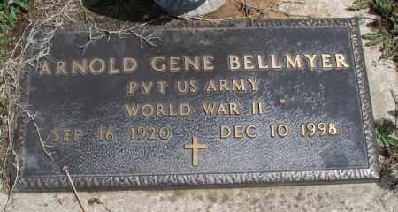BELLMYER, ARNOLD GENE  (VETERAN WWII) - Montgomery County, Kansas | ARNOLD GENE  (VETERAN WWII) BELLMYER - Kansas Gravestone Photos
