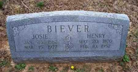 BIEVER, HENRY - Montgomery County, Kansas   HENRY BIEVER - Kansas Gravestone Photos