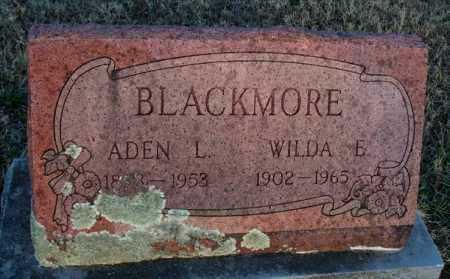 BLACKMORE, WILDA E - Montgomery County, Kansas   WILDA E BLACKMORE - Kansas Gravestone Photos