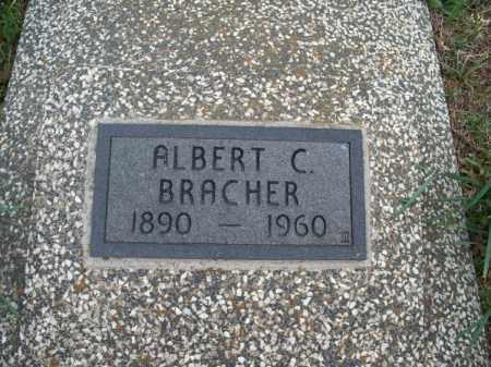 BRACHER, ALBERT C - Montgomery County, Kansas | ALBERT C BRACHER - Kansas Gravestone Photos
