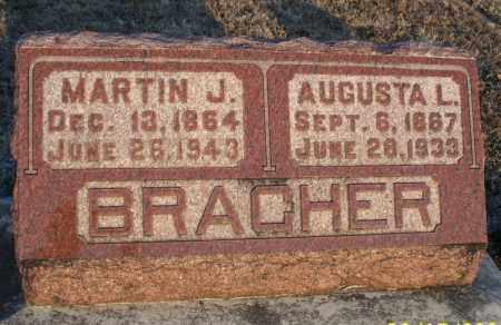 BRACHER, MARTIN J - Montgomery County, Kansas | MARTIN J BRACHER - Kansas Gravestone Photos
