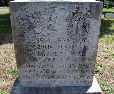 BRADLEY, LOUISA - Montgomery County, Kansas   LOUISA BRADLEY - Kansas Gravestone Photos