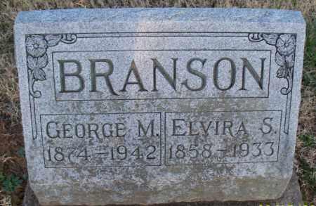 BRANSON, GEORGE M - Montgomery County, Kansas | GEORGE M BRANSON - Kansas Gravestone Photos