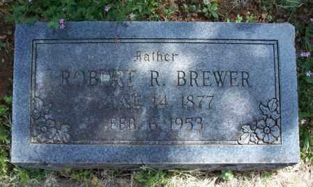 BREWER, ROBERT R - Montgomery County, Kansas   ROBERT R BREWER - Kansas Gravestone Photos