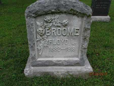 BROOME, FLOYD L - Montgomery County, Kansas   FLOYD L BROOME - Kansas Gravestone Photos
