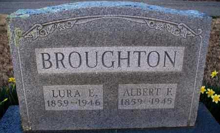 BROUGHTON, ALBERT F - Montgomery County, Kansas | ALBERT F BROUGHTON - Kansas Gravestone Photos