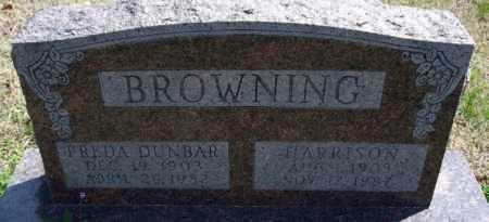 BROWNING, HARRISON - Montgomery County, Kansas | HARRISON BROWNING - Kansas Gravestone Photos