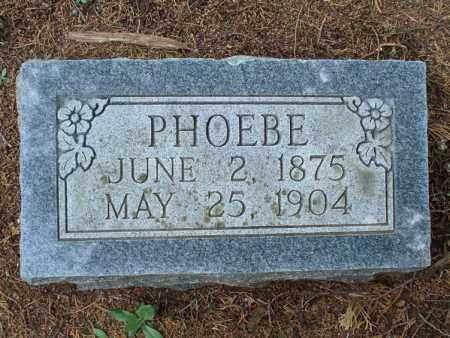 BURKE, PHOEBE - Montgomery County, Kansas | PHOEBE BURKE - Kansas Gravestone Photos