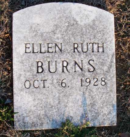 BURNS, ELLEN RUTH - Montgomery County, Kansas | ELLEN RUTH BURNS - Kansas Gravestone Photos
