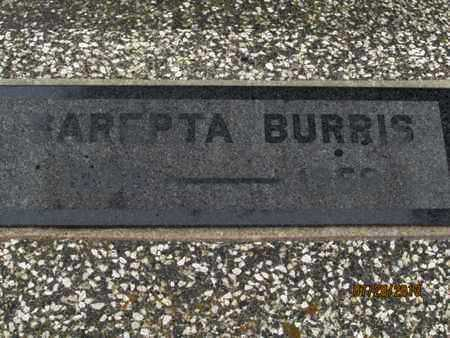 BLAIR BURRIS, DELLA SAREPTA - Montgomery County, Kansas | DELLA SAREPTA BLAIR BURRIS - Kansas Gravestone Photos