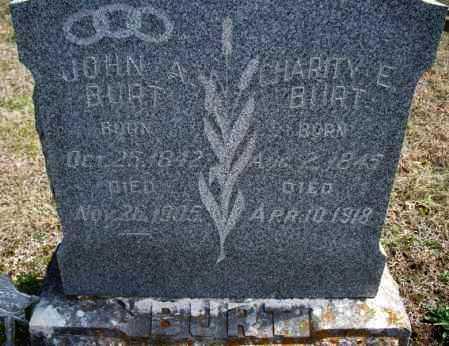 BURT, JOHN A - Montgomery County, Kansas | JOHN A BURT - Kansas Gravestone Photos