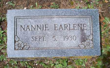 BUSHNELL, NANNIE EARLENE - Montgomery County, Kansas | NANNIE EARLENE BUSHNELL - Kansas Gravestone Photos