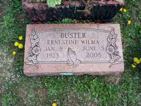 BUSTER, ERNESTINE WILMA - Montgomery County, Kansas | ERNESTINE WILMA BUSTER - Kansas Gravestone Photos