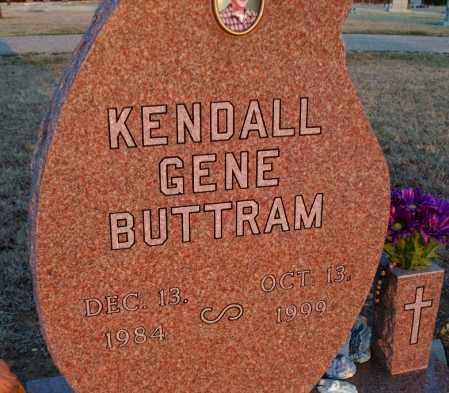BUTTRAM, KENDALL GENE - Montgomery County, Kansas | KENDALL GENE BUTTRAM - Kansas Gravestone Photos