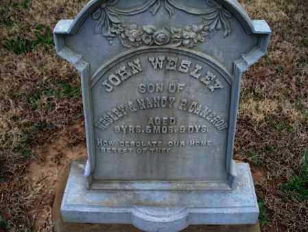 CAMERON, JOHN WESLEY - Montgomery County, Kansas   JOHN WESLEY CAMERON - Kansas Gravestone Photos