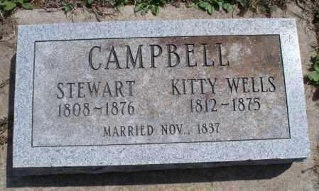 WELLS CAMPBELL, KITTY - Montgomery County, Kansas | KITTY WELLS CAMPBELL - Kansas Gravestone Photos