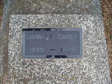 CAREY, DANNY V - Montgomery County, Kansas   DANNY V CAREY - Kansas Gravestone Photos