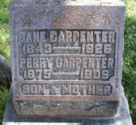 CARPENTER, PERRY - Montgomery County, Kansas | PERRY CARPENTER - Kansas Gravestone Photos