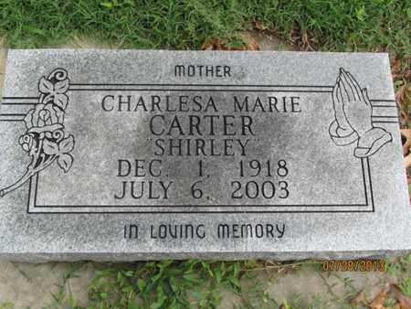 CARTER, CHARLESA MARIE - Montgomery County, Kansas   CHARLESA MARIE CARTER - Kansas Gravestone Photos