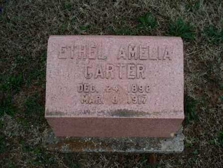 CARTER, ETHEL AMELIA - Montgomery County, Kansas | ETHEL AMELIA CARTER - Kansas Gravestone Photos