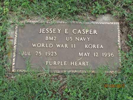 CASPER, JESSEY E  (VETERAN 2 WARS) - Montgomery County, Kansas   JESSEY E  (VETERAN 2 WARS) CASPER - Kansas Gravestone Photos