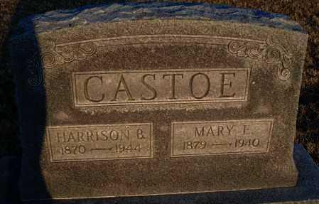 CASTOE, MARY E - Montgomery County, Kansas | MARY E CASTOE - Kansas Gravestone Photos