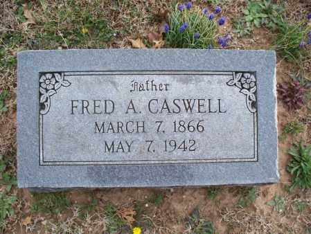 CASWELL, FRED A - Montgomery County, Kansas | FRED A CASWELL - Kansas Gravestone Photos