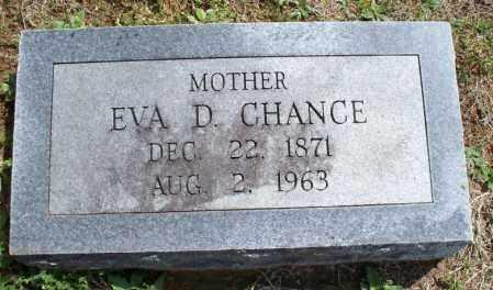 CHANCE, EVA D - Montgomery County, Kansas   EVA D CHANCE - Kansas Gravestone Photos