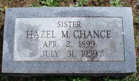CHANCE, HAZEL M - Montgomery County, Kansas   HAZEL M CHANCE - Kansas Gravestone Photos
