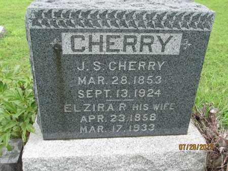 CHERRY, ELZIRA R - Montgomery County, Kansas | ELZIRA R CHERRY - Kansas Gravestone Photos
