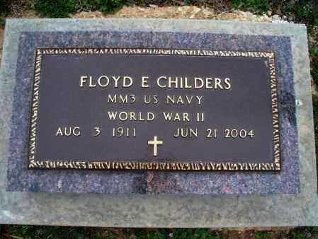 CHILDERS, FLOYD E (VETERAN WWII) - Montgomery County, Kansas | FLOYD E (VETERAN WWII) CHILDERS - Kansas Gravestone Photos