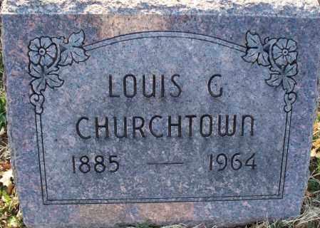 CHURCHTOWN, LOUIS G - Montgomery County, Kansas   LOUIS G CHURCHTOWN - Kansas Gravestone Photos