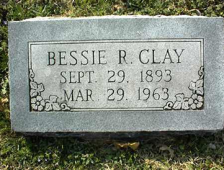 CLAY, BESSIE R  - Montgomery County, Kansas | BESSIE R  CLAY - Kansas Gravestone Photos