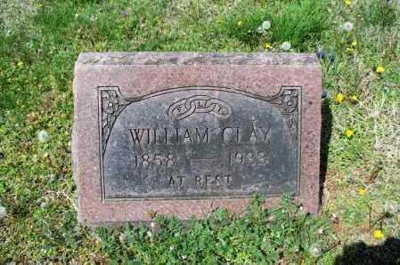 CLAY, WILLIAM - Montgomery County, Kansas | WILLIAM CLAY - Kansas Gravestone Photos