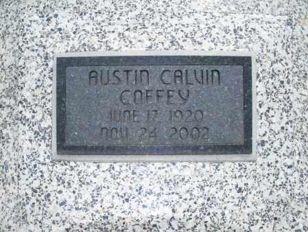 COFFEY, AUSTIN CALVIN - Montgomery County, Kansas | AUSTIN CALVIN COFFEY - Kansas Gravestone Photos