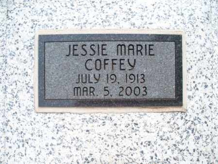 COFFEY, JESSIE MARIE - Montgomery County, Kansas | JESSIE MARIE COFFEY - Kansas Gravestone Photos