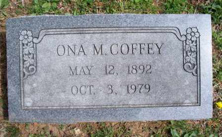 COFFEY, ONA M - Montgomery County, Kansas | ONA M COFFEY - Kansas Gravestone Photos
