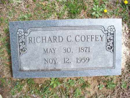 COFFEY, RICHARD C - Montgomery County, Kansas | RICHARD C COFFEY - Kansas Gravestone Photos