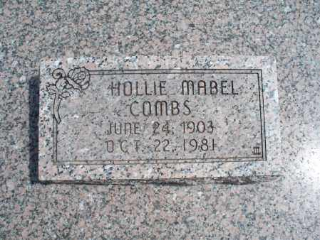 COMBS, HOLLIE MABEL - Montgomery County, Kansas | HOLLIE MABEL COMBS - Kansas Gravestone Photos