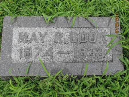 COON, MAY R - Montgomery County, Kansas | MAY R COON - Kansas Gravestone Photos